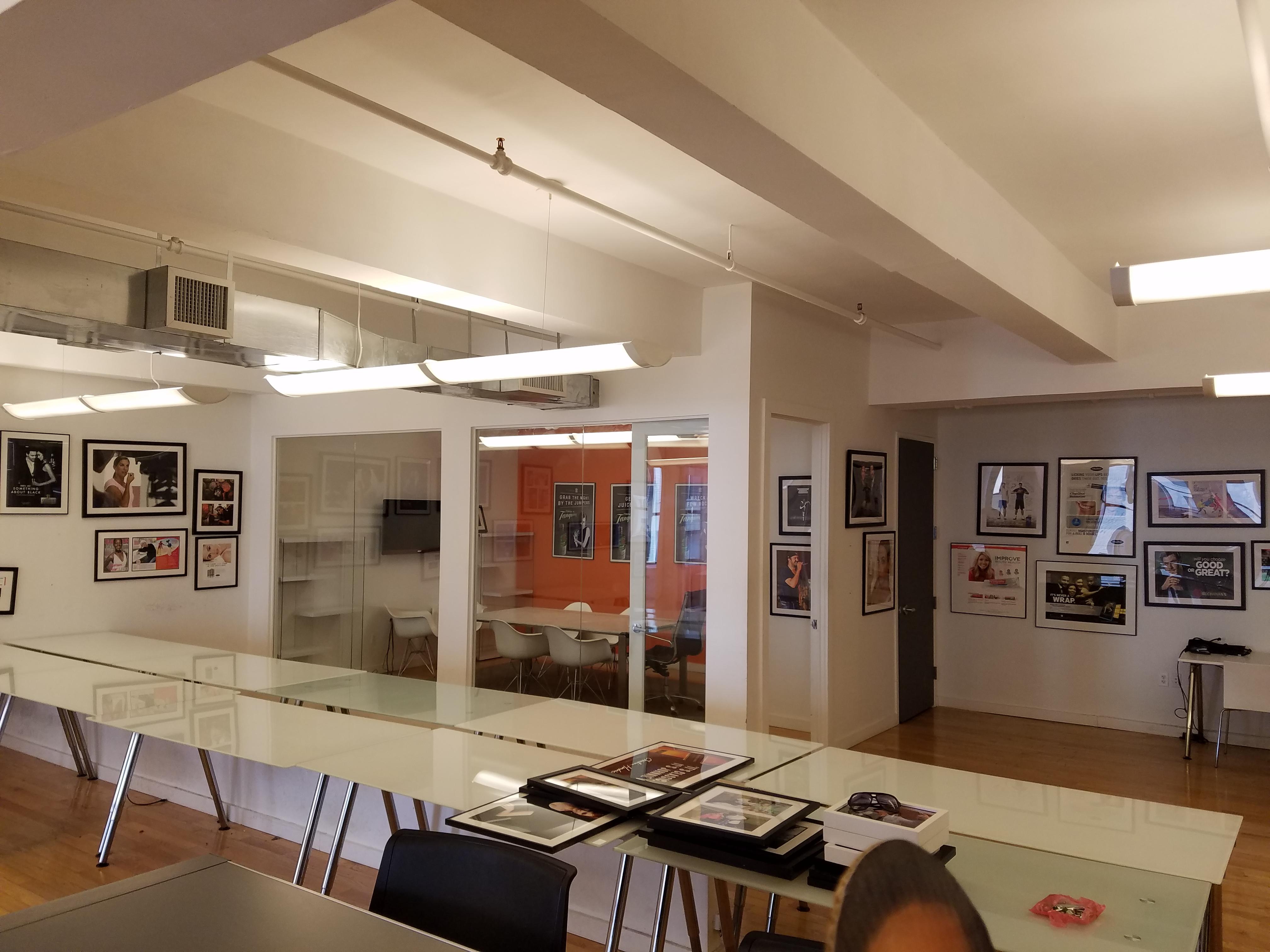 Loft space in flatiron