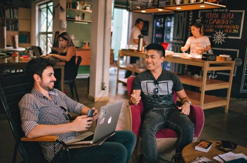 Coworking-Hang-Out-818x540 How to Define the Effectiveness of Communal Work Spaces