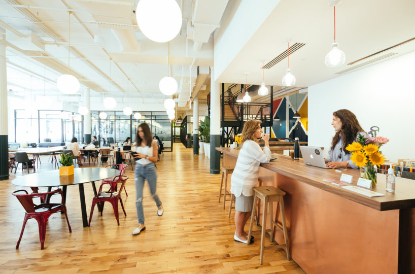 WeWork-Coworking-Space-1-818x540 Top 10 Coworking Spaces in NYC