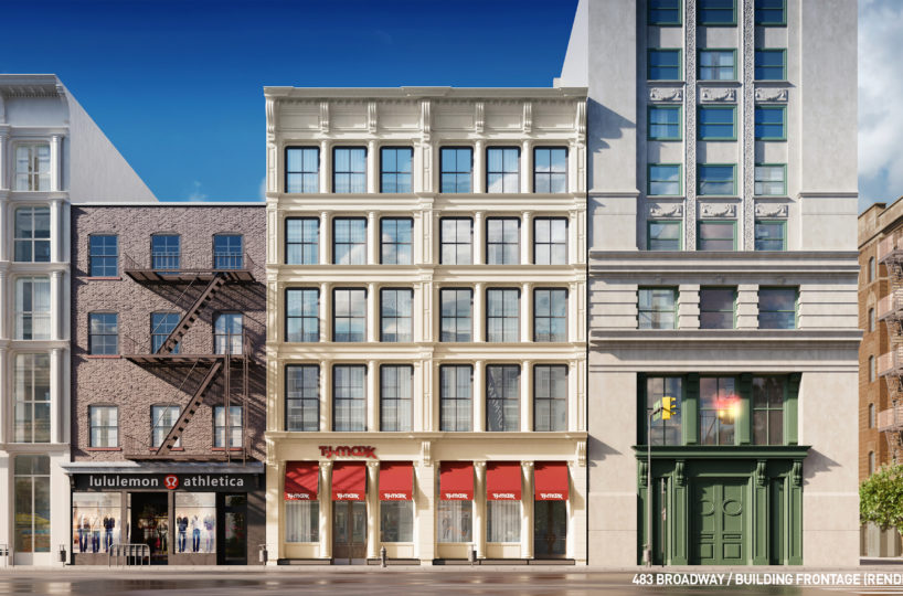 Building-frontage-(Rendering)-818x540 Office Space in SoHo