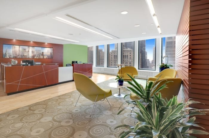 midtown-lobby5-carr-workplaces-700x464 Coworking Spaces/ Serviced Offices